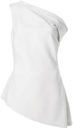 Rosetta Getty cold shoulder blouse
