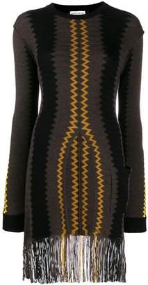Sonia Rykiel fringed longline sweater