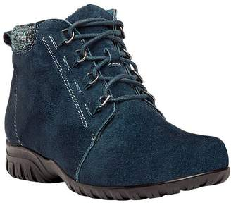 Propet Suede Ankle Boots - Delaney