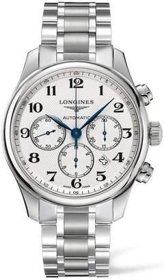 Longines Men's Steel Bracelet & Case Automatic Chronograph Watch L28594786