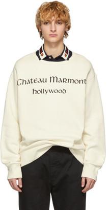 Gucci Off-White Chateau Marmont Sweatshirt