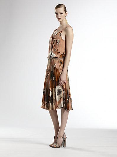 Gucci Silk Floral Dress