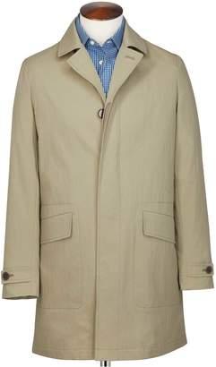 Charles Tyrwhitt Stone Italian Cotton RainCotton coat Size 38