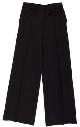 Barneys New York Barney's New York Mid-Rise Wide-Leg Pants