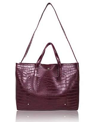 The Lovely Tote Co. Women's Crossbody Bag Pocket Big Capacity Tote