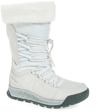 Women's New Balance Q416 1000 Faux Fur Waterproof Platform Boot $139.95 thestylecure.com