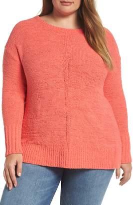 Caslon Button Back Sweater