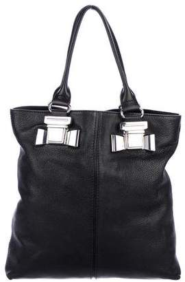 Sonia Rykiel Sonia by Pebbled Leather Tote