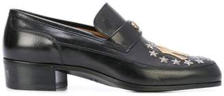 Gucci Leather loafer with NY YankeesTM patch