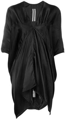 Rick Owens draped shift dress