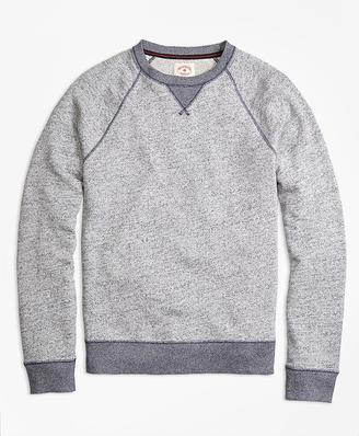 Terry Raglan Crewneck Sweatshirt $59.50 thestylecure.com