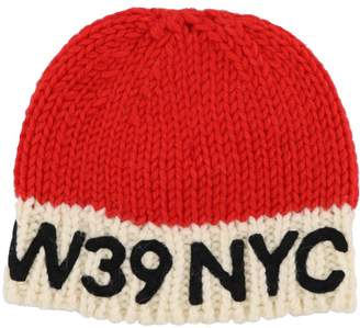 Calvin Klein Logo Wool Hat