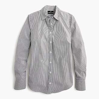 J.Crew Petite slim stretch perfect shirt in classic stripe
