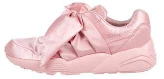 FENTY PUMA by Rihanna Satin Bow Sneakers