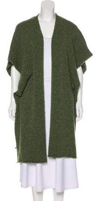 eskandar Knit Short Sleeve Cardigan