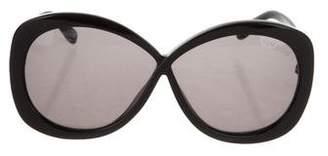 Tom Ford Margot Oversize Sunglasses