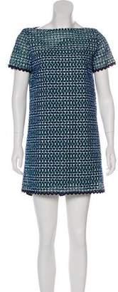 Sacai Luck Embroidered Mini Dress w/ Tags