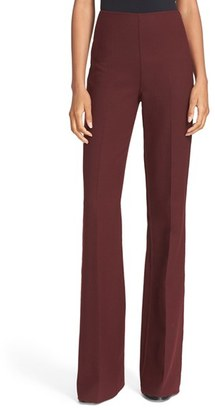 Women's Theory 'Demitria Df Saxton' Wool Blend Flare Leg Pants $355 thestylecure.com