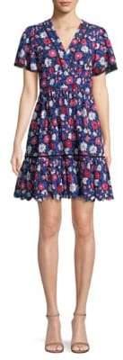 Kate Spade Daisy Eyelet Cotton Mini Dress