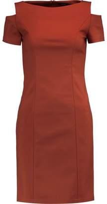 Raoul Cold-Shoulder Cotton-Blend Mini Dress