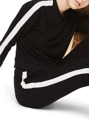 Topshop Side Stripe Sweatshirt