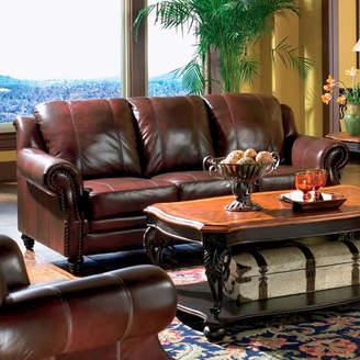 Wildon Home Harvard Leather Sofa