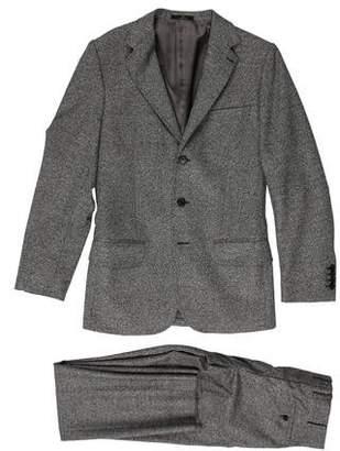 Valentino Virgin Wool Three-Button Suit
