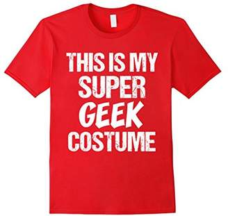 T-Shirt Funny This My Super Geek Costume Superhero Anime