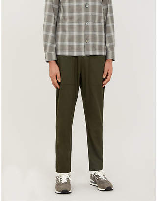 Selfridges Barena Venezia Trabaco cropped mid-rise tapered stretch-wool trousers