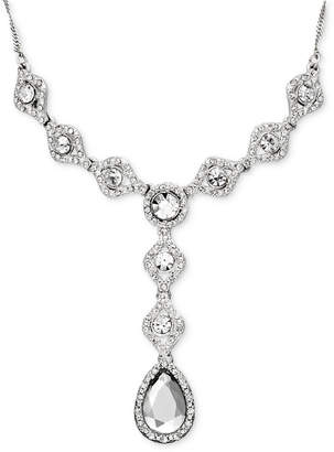 Charter Club Crystal Y-Necklace Drop