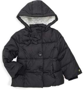 Kate Spade Girl's Bow Puffer Down Jacket