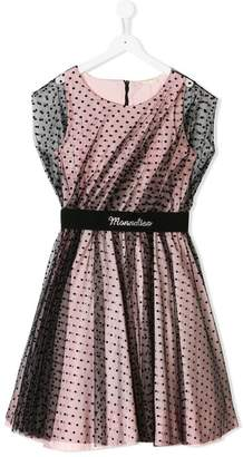 MonnaLisa TEEN polka dots dress