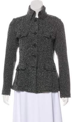 Rag & Bone Bouclé Button-Up Jacket