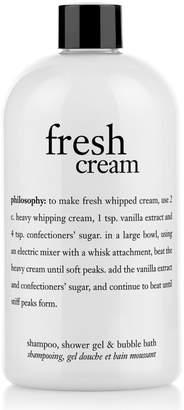philosophy Fresh Cream Shampoo Shower Gel And Bubble Bath