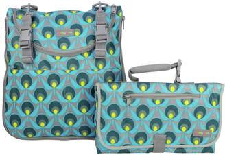 Momymoo Maia Geo Daisy Changing Bag with Free Changing Mat.
