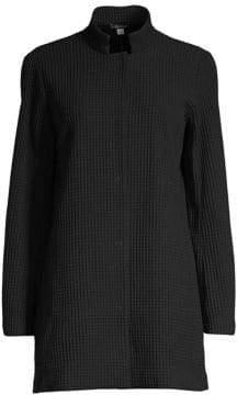 Eileen Fisher Waffle Knit Jacket