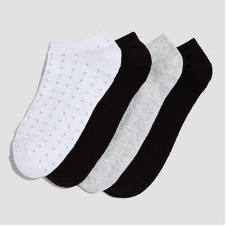 Joe Fresh Women's 4 Pack Ankle Socks