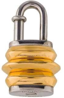 Hermes Lantern Cadena Lock Charm