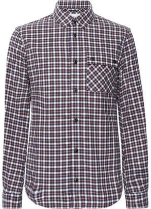 Aztech Mountain Lodge Peak Checked Cotton-Flannel Shirt