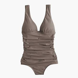 J.Crew DD-cup ruched femme one-piece swimsuit