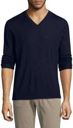 Ermenegildo Zegna Men's Cashmere Blend V-neck Sweater