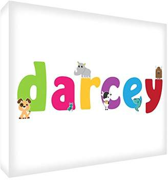 Camilla And Marc Feel Good Art Darcey Gallery Wrapped Nursery Box Canvas with Solid Front Panel (30 x 40 x 4 cm, Medium)