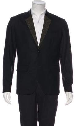 Marc by Marc Jacobs Embellished Two-Button Blazer