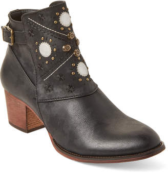 Gc Shoes Black Austin Embellished Booties