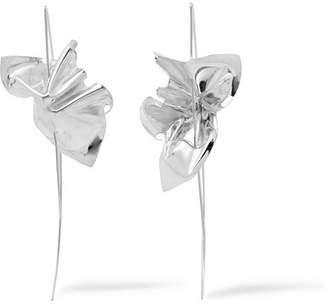 Wwake - Closer By Wwake Lancet Sterling Silver Earrings