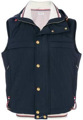 Thom Browne Solid Enshuku Nylon Down-Filled Tech Vest