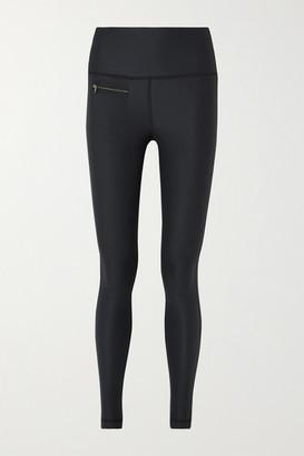 Peri Erin Snow Stretch Ski Leggings - Black