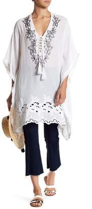 Raga Embroidered & Beaded Tunic