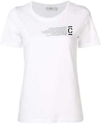 Closed graphic print T-shirt