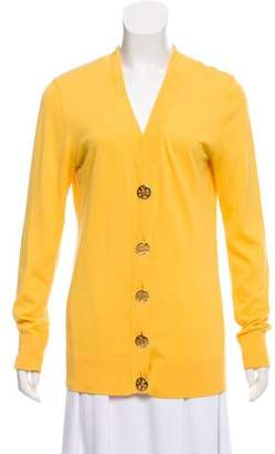 Tory Burch Knit Button-Up Cardigan